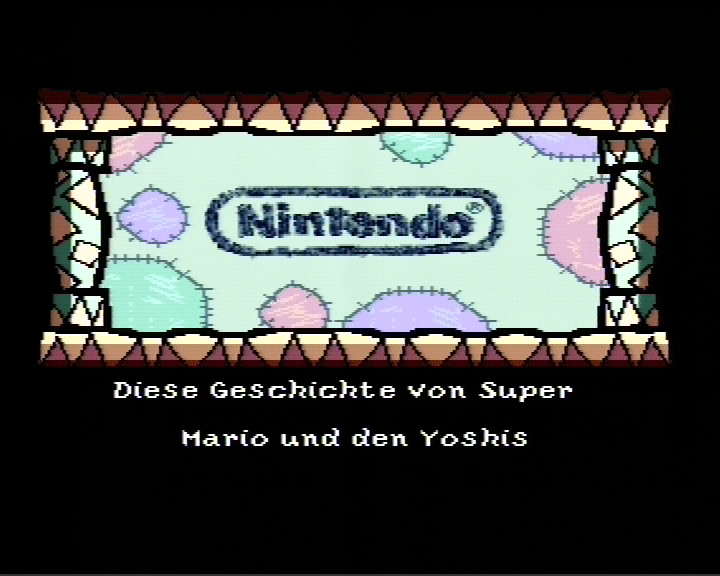 Yoshi's Island intro